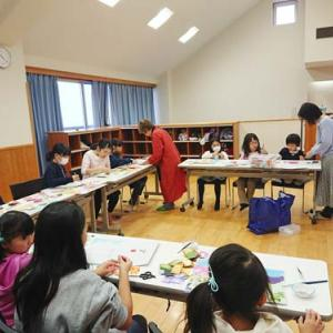 貼り絵教室☆小学生クラス/【タコ日記】並んで走る