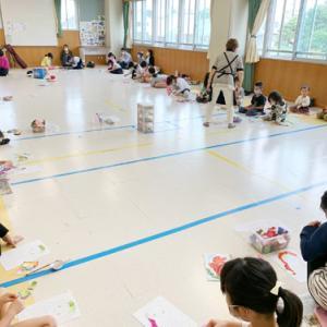 貼り絵教室☆小学生クラス/たこ日記