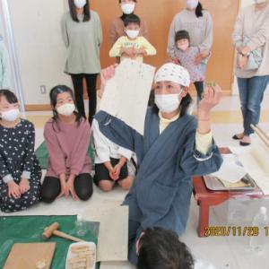 貼り絵教室 小学生クラス ★【タコ日記】