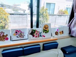 貼り絵教室 デイサービス ★【タコ日記】見てます