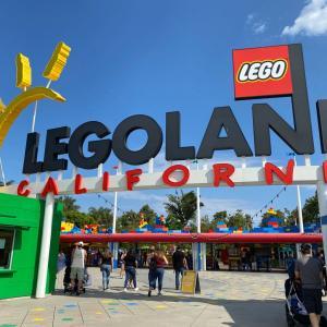 夏休み旅行Legoland&LA2021②Legolandカリフォルニア
