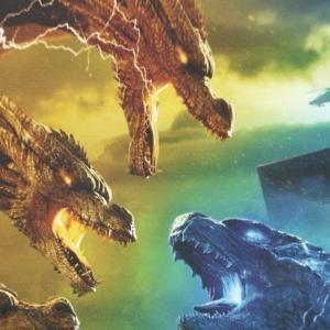 映画「ゴジラ キング・オブ・モンスターズ」(輸入盤Blu-ray 3D UK)
