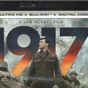 映画「1917 命をかけた伝令」(輸入盤4K UHD Blu-ray)