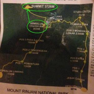 シンガポールの外に出てぶらりスポット紹介~ロンボク島・リンジャニ登山に挑戦!~3日目、登頂~