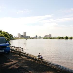 【釣り】江戸川手長海老2020