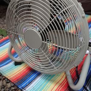【ITEM】キャンプ用の扇風機