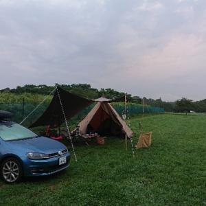 【ワンコとキャンプ】自粛明けキャンプ 森のまきば その3