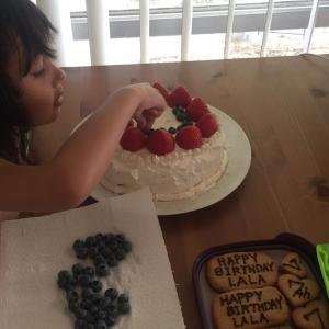 うちの長女7歳の誕生日