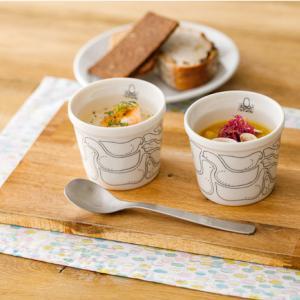 【ミナ ペルホネン × スープストックトーキョー】 スープ&カップのセットが再販売されます!