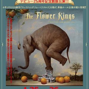 音楽(スウェーデン)- The Flower Kings 2020来日公演(メモ)