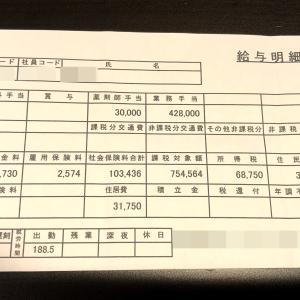 30代薬剤師の給与明細公開!
