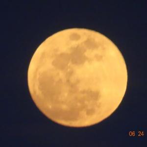 満月の日はラッキーなことが多い小生