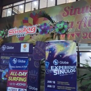 the Sinulog Festival in Cebu