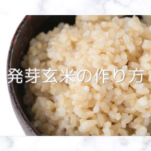 カンタン!発芽発酵玄米の作り方