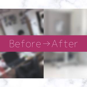 ミニマリストの10年前の部屋【Before / After】