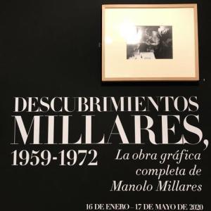 MILLARES展(Museo de Arte Abstracto)