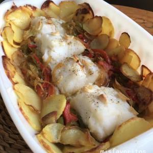 鱈のオーブン焼き