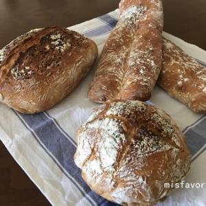秋のパン作り