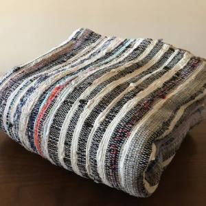 古い手織マット