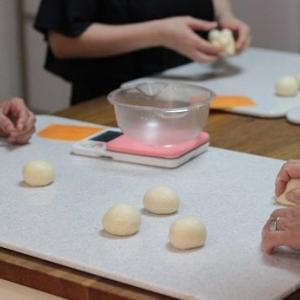 6/22 am  レッスンレポ(^^) 焼きカレーパン&黒糖蒸しパン。