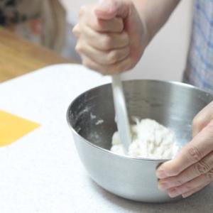 8/2 am レッスンレポ(^^) 白コッペ&焼きとうもろこしパン。