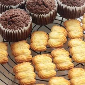 ショコラマフィン&レモンクッキー。