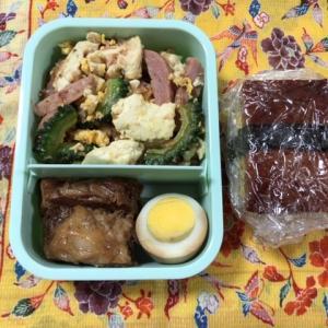 沖縄料理弁当を作る