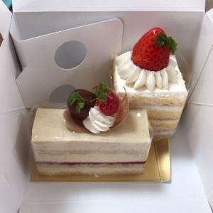 最終日、ケーキを買う