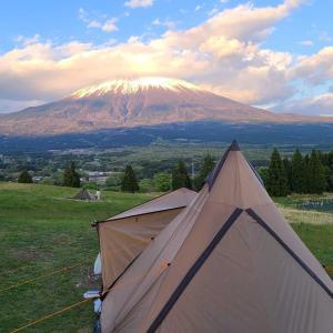 富士YMCAでソロキャンプ
