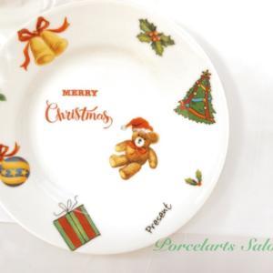 オリジナルクリスマス食器講座【ポーセラーツ】