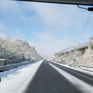 ★雪で目的地いきなり変更の休日♪
