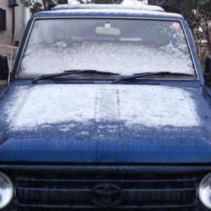 初雪 明日は、湯ノ丸