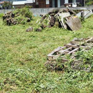 薪基地の草刈り