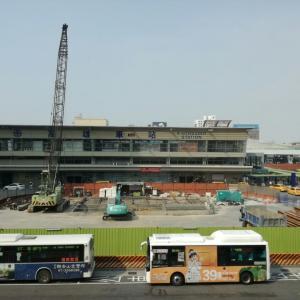 台湾 高雄から台南に列車で移動