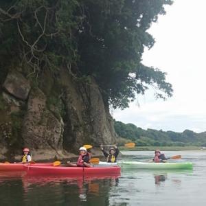 那珂川でカヤック体験してきました♪