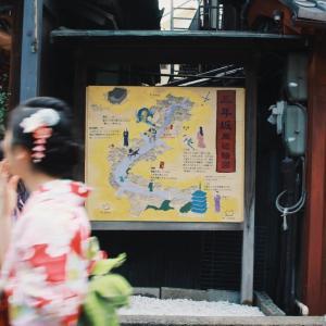 産寧坂の件で、新聞取材を受けました。
