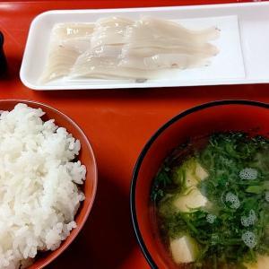 魚菜市場で朝ごはん