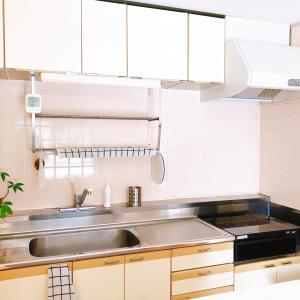 キッチンは、基本的にモノ少なめ。