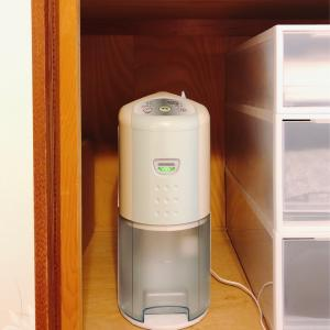 【湿気対策】押し入れの湿気もボタン一つで解決。