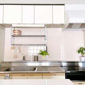 【キッチン】結局、モノが少なければスッキリ見える。