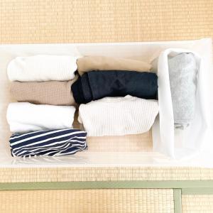 ミニマリストの洋服収納。