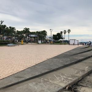 鬼の洗濯岩や海水浴場がある「青島海岸」