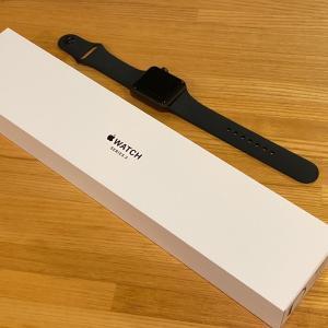 Apple Watchがわが家にやってきた。