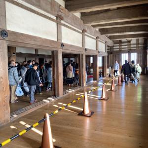 '20年01月 姫路:姫路城天守閣へ