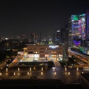 ヒルトン東京お台場からの夜景