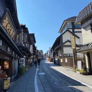 病気平癒のお願い散歩・成田山 昼食