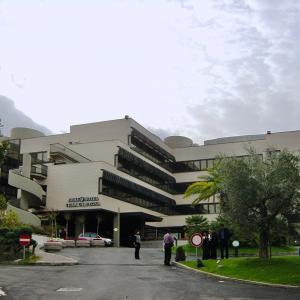 イタリア紀行 ローマ:JOLLY HOTEL VILLA CARPEGNA