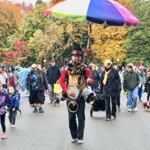 ハロウイン ペットパレード に行きました〜!