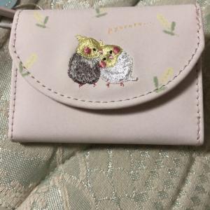 オカメインコのミニ財布、買いました