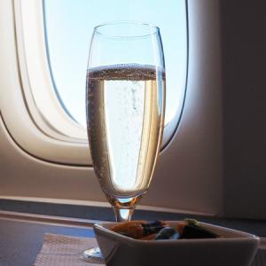 キャセイ航空羽田から香港へ CX549ビジネスクラス搭乗記